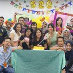 Good performance employee's Birthday Celebration
